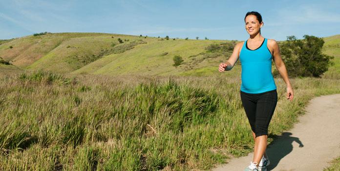 Profits of Walking During Pregnancy?